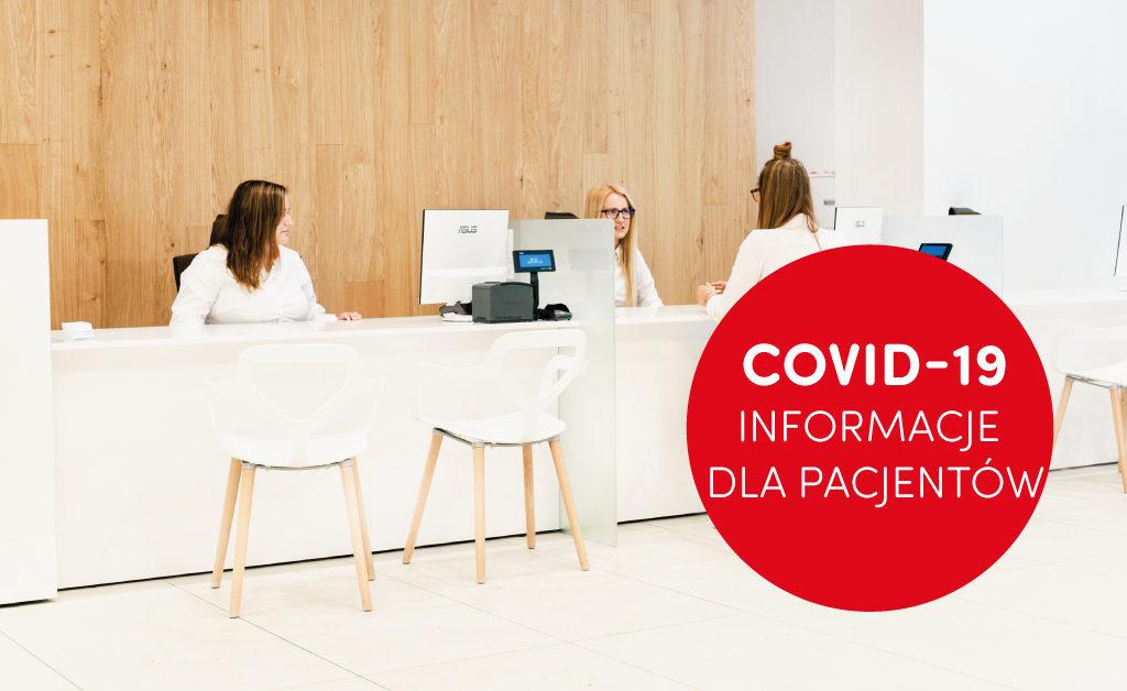koronawirue - informacja dla pacjentów