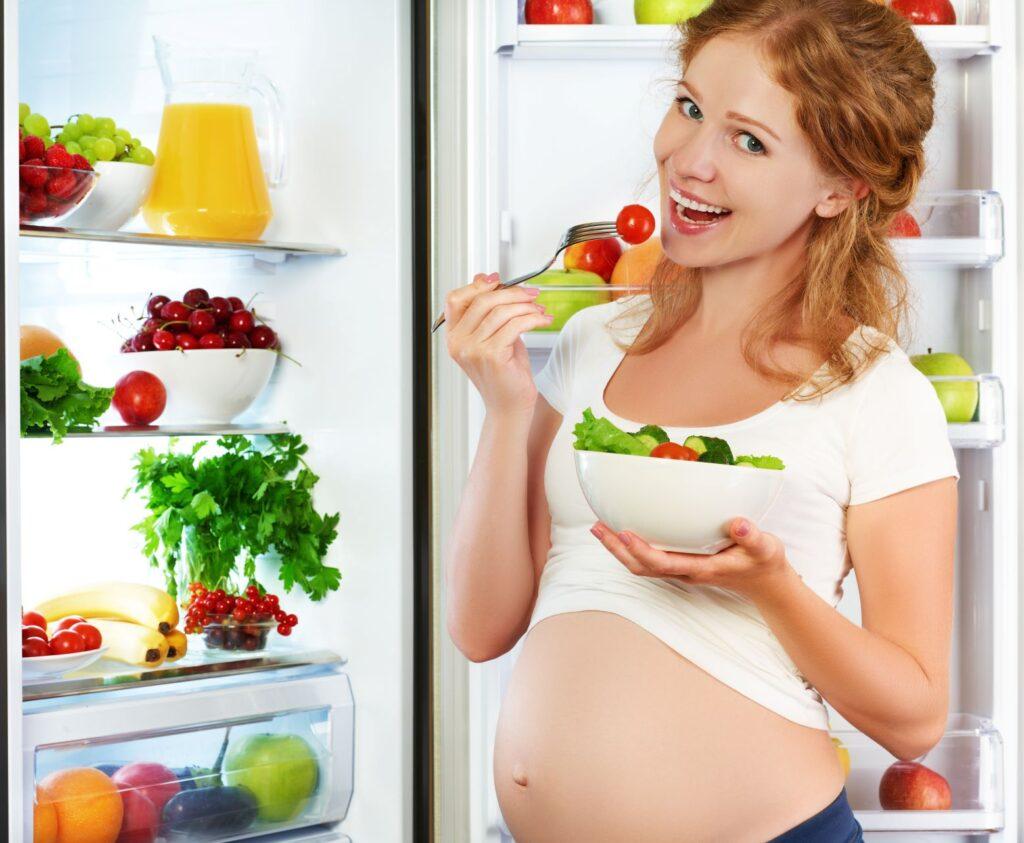 dieta wegańska w ciąży